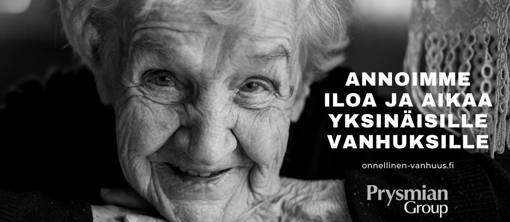Annamme iloa ja aikaa vanhuksille