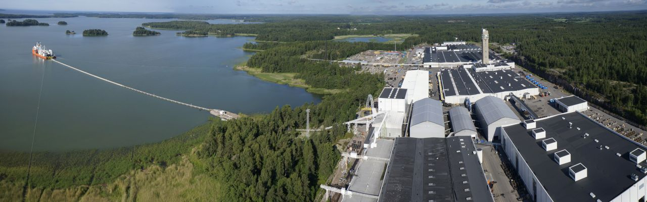 Suurjännitevesistökaapeli Savonlinnassa on ainutlaatuinen hanke